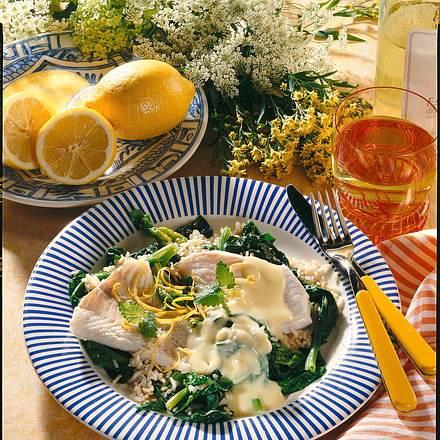 Fischfilet mit Zitronensoße Rezept