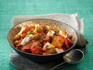 Fischgulasch mit Kartoffeln Rezept