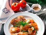 Fischragout mit Koriander-Kartoffeln Rezept