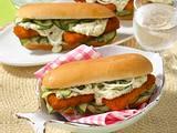 Fischstäbchen Hot Dog Rezept