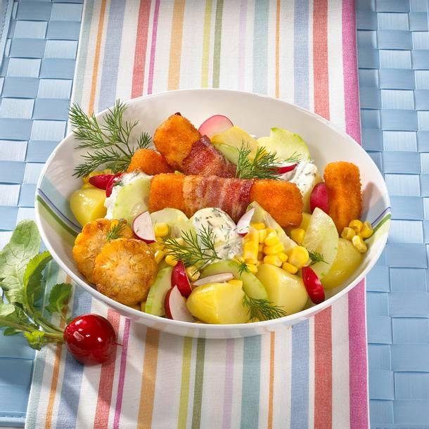 Fischstäbchen-Kartoffelsalat Rezept