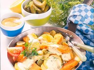 Fischstäbchen à la Pannfisch Rezept