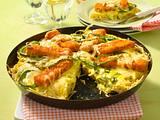 Fischstäbchen-Pizza Rezept