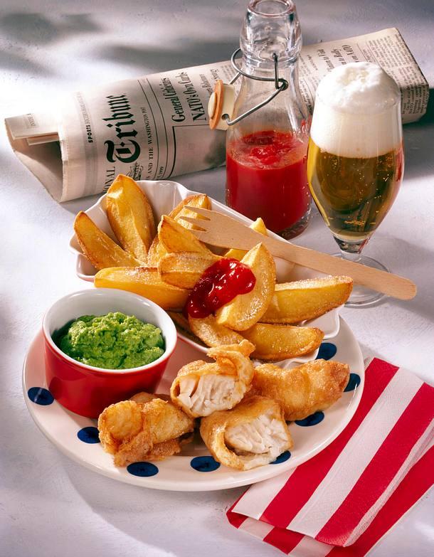 fish and chips rezept lecker. Black Bedroom Furniture Sets. Home Design Ideas