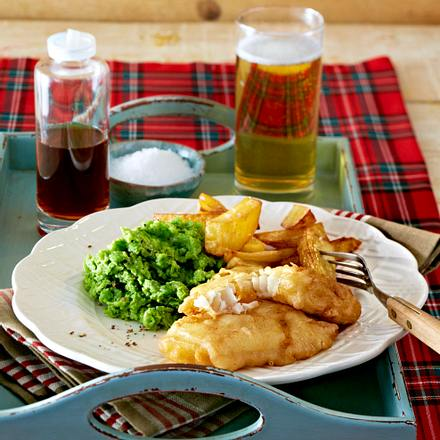 Fish and chips Rezept
