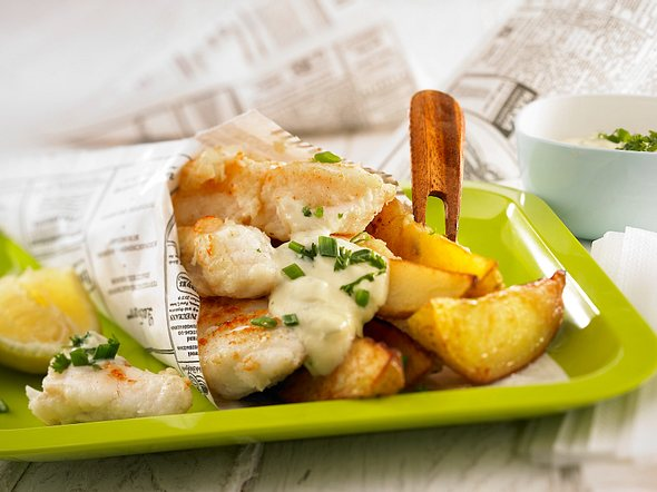 Fish 'n' Chips Rezept