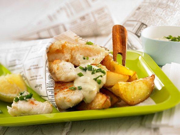 Fish 'n' Chips Rezept