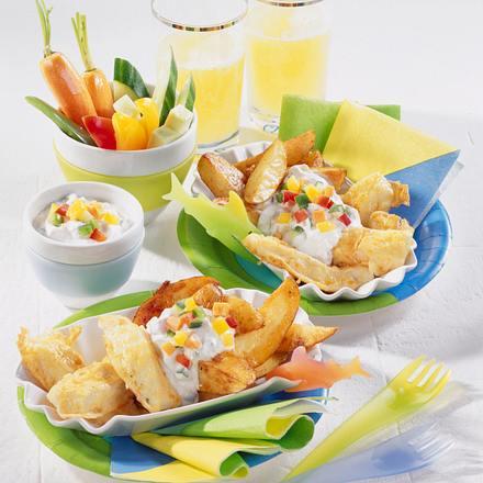 fish chips mit gem sesticks rezept chefkoch rezepte auf kochen backen und. Black Bedroom Furniture Sets. Home Design Ideas