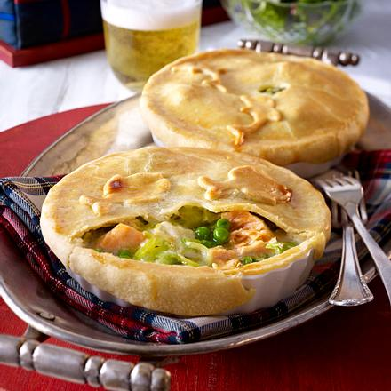 Fishermans Pie (Lachs-Lengfisch-Pie) Rezept