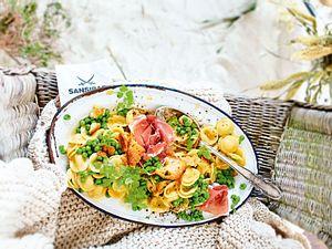 Fixe Friesenpasta à la Carbonara Rezept
