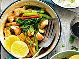 Fixer Fischtopf mit Asiagemüse Rezept
