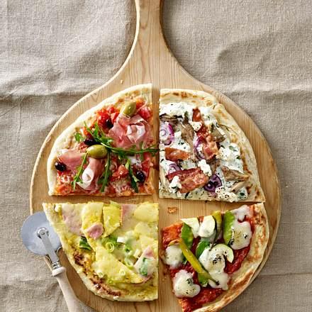 fladenbrotpizza mit gem se und gorgonzola rezept chefkoch rezepte auf kochen. Black Bedroom Furniture Sets. Home Design Ideas