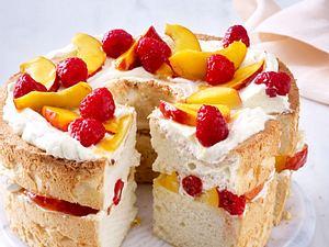 Flauschiger Nektarinen-Kuchen (Angel-Cake) Rezept