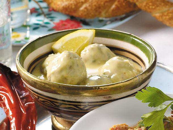 Fleischbällchen in Zitronensauce Rezept