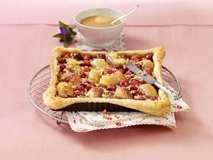 Florentiner-Pfirsich-Tarte Rezept