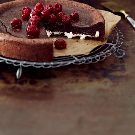 Fondant au Chocolat mit Marshmallow Rezept