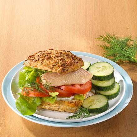 Forellenburger (Trennkost) Rezept