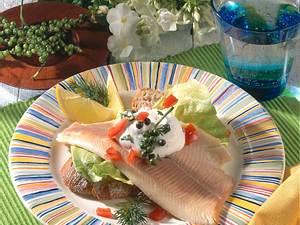 Forellenfilets mit Meerrettich-Sahne Rezept