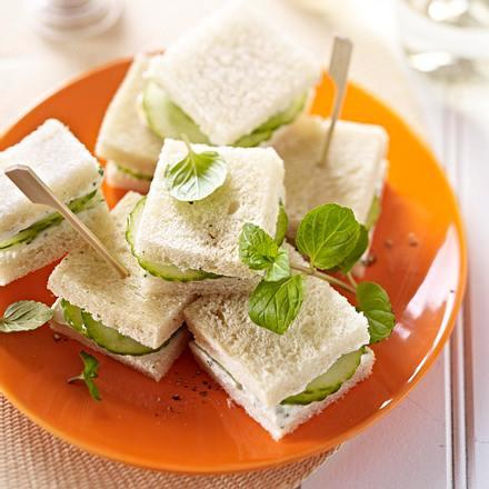 Fraîcheur de concombre à la menthe Rezept