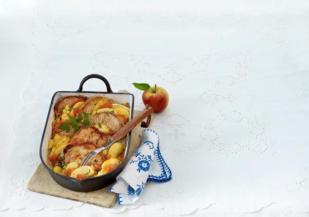 Fränkische Apfelkoteletts Rezept