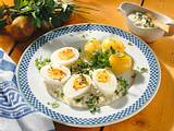 Frankfurter Grüne Soße mit Eiern Rezept