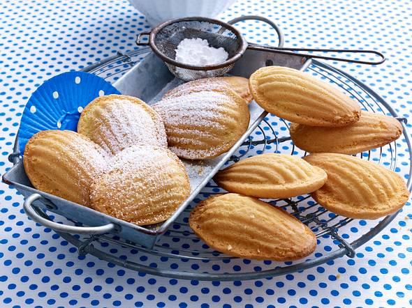 Französische Madeleines Rezept