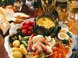 Französische Salatplatte Rezept