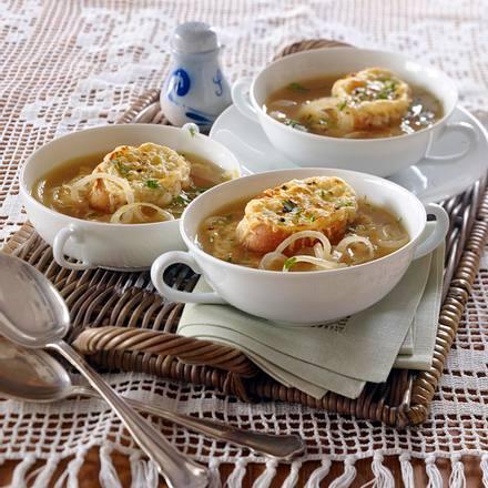 Französische Zwiebelsuppe Rezept