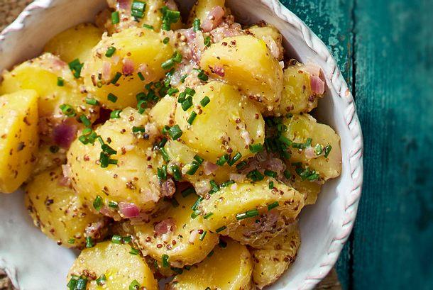 Französischer Kartoffelsalat rezept