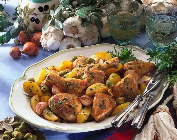 Französisches Kräuter-Hähnchen Rezept