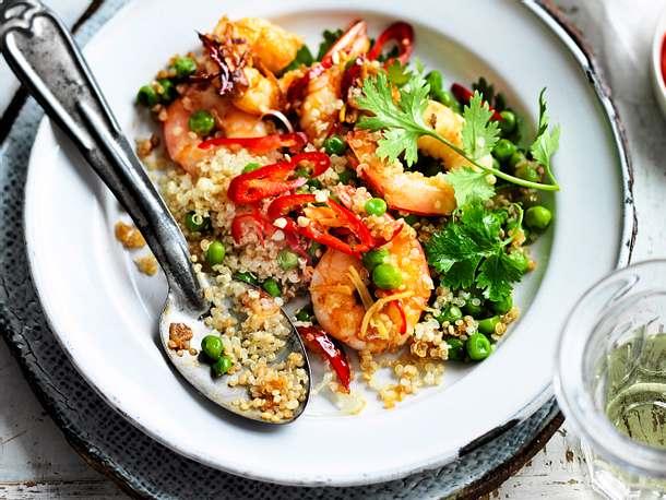 Fried Quinoa für Unbeschwertheit Rezept