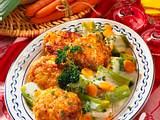 Frikadellen in Kartoffel-Senf-Kruste Rezept