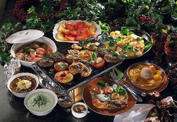 Frikadellen, Schnitzel und Geflügel vom heißen Stein Rezept