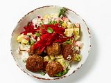 Frikadeller mit Kartoffelsalat Rezept