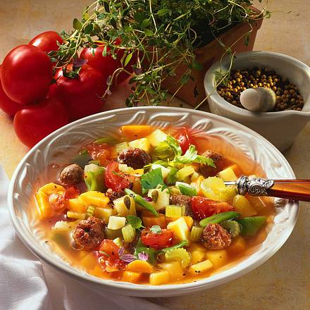 Frische Gemüsesuppe Rezept
