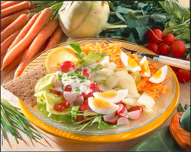 Frische Salat-Diät Rezept