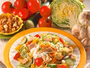 Frischer bunter Salat Rezept