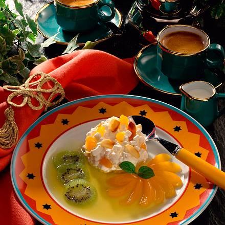 Frischkäse-Aprikosen-Dessert Rezept
