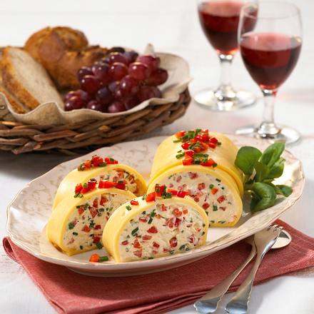Frischkäse-Paprika-Pastete Rezept