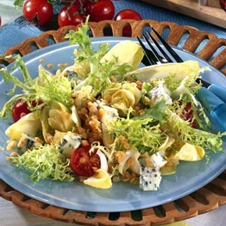 Frisée-Salat mit Linsen-Vinaigrette Rezept