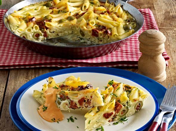Frittata mit Chorizo und Paprikasoße Rezept