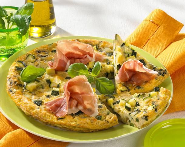 Frittata mit Parmaschinken Rezept