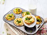 Frittata-Texas-Muffins (4-Zutaten) Rezept