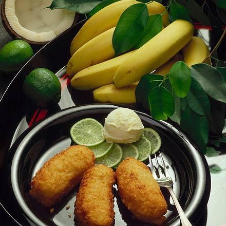 Frittierte Bananen Rezept