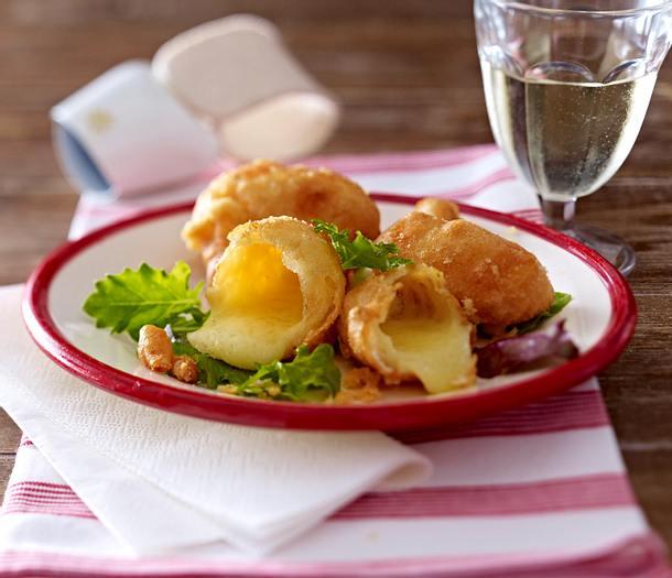 Frittierte Käsestifte (Malakoffs) Rezept