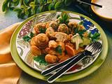Frittiertes Gemüse mit Joghurt-Dip Rezept
