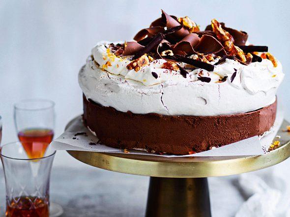 """Frozen-Pavlova-Torte """"Eischneegestöber"""" Rezept"""
