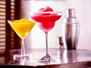 Frozen Pink Grapefruit Margarita Rezept