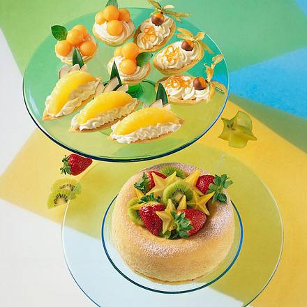 Frucht-Schiffchen Rezept