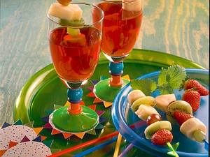 Frucht-Tee-Bowle Rezept